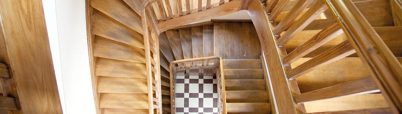 Treppenhaus der Residenz Irmgardis